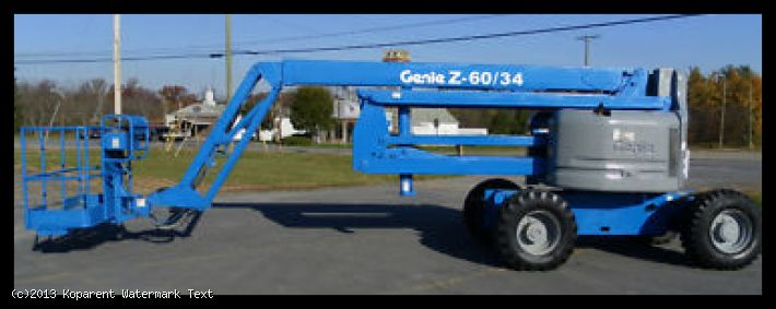 Z60 Cherry Picker